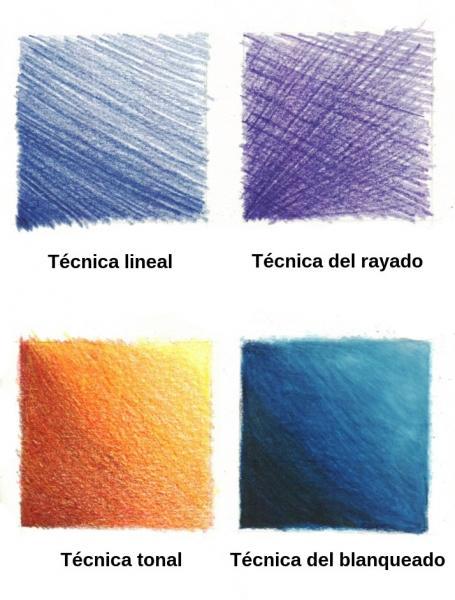 Dibujar con lpiz de color  Michel